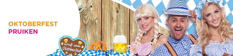 Uitzonderlijk Oktoberfest Pruiken Kopen | Feestwinkel.nl TD23