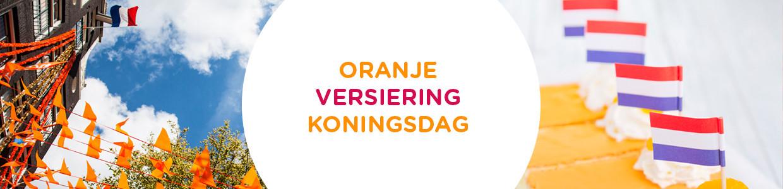 Koningsdag Oranje Versiering