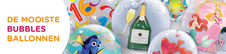 Bubbles Ballonnen (transparant)