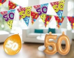 abraham 50 jaar feestartikelen Feestartikelen 50 jaar! Shop het nu bij | Feestwinkel.nl abraham 50 jaar feestartikelen