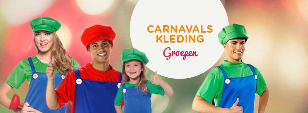 Carnavalskleding Groepen