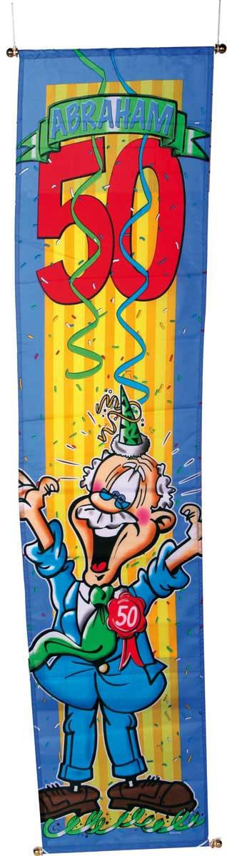 50 Jaar Abraham Banier Stripes 40x180cm