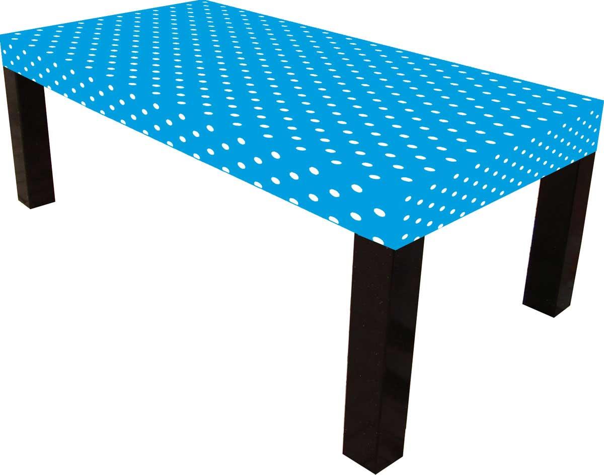 Blauwe Oceaan tafelkleed - 120x180cm