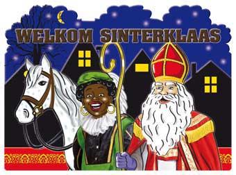 Sinterklaas Deurbord 48x35cm thumbnail