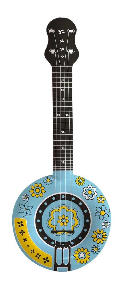 Opblaas Banjo - 88cm