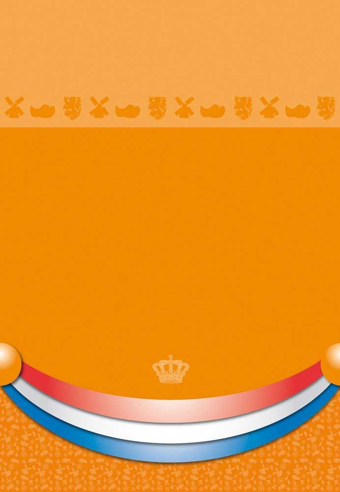 Oranje Tafelkleed 180x130cm