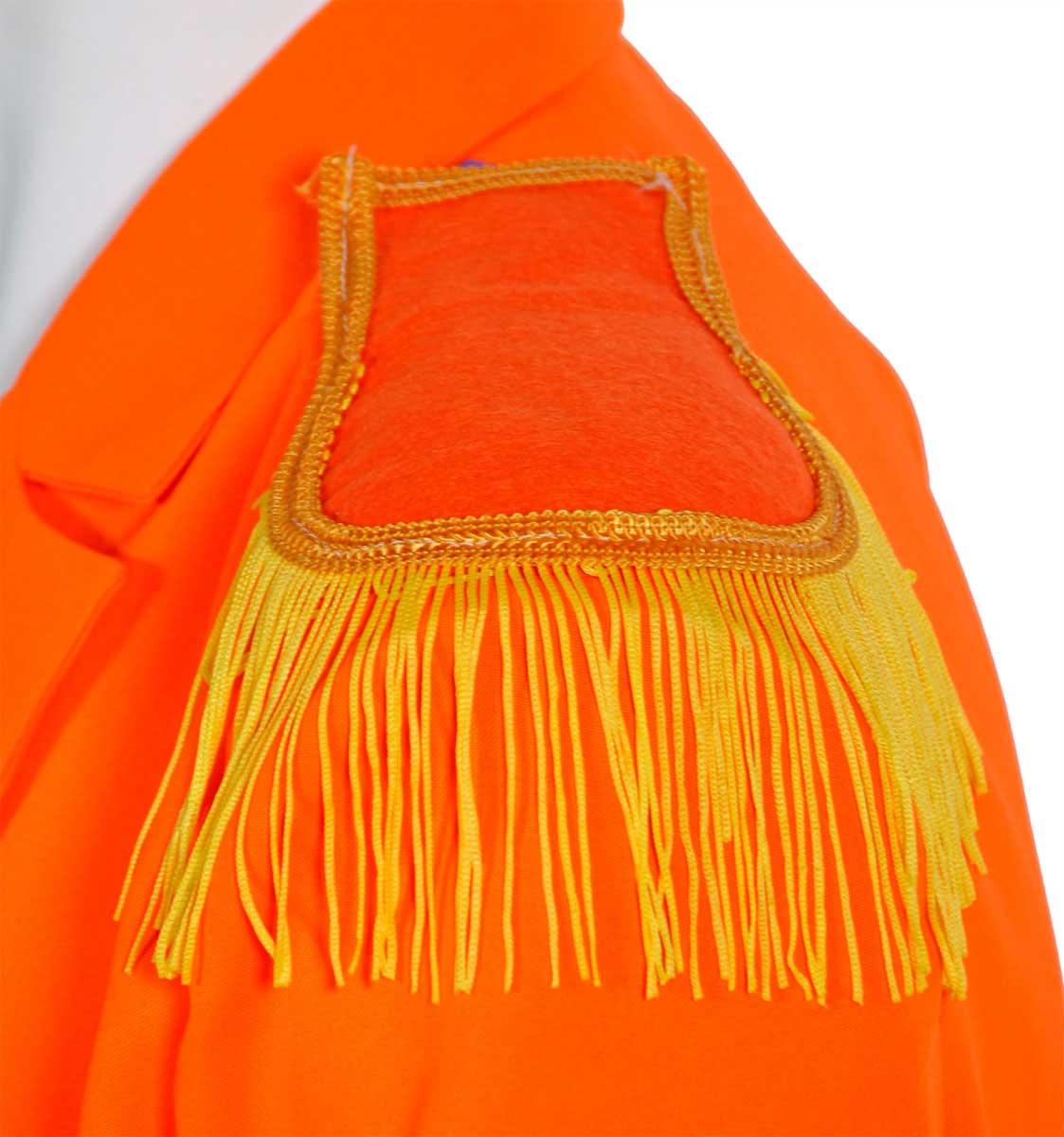 Epaulet Oranje - 2 stuks