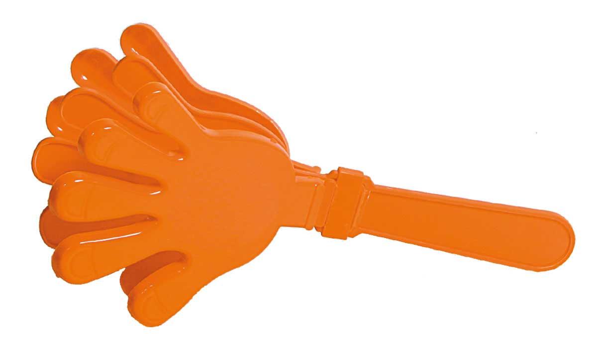 Oranje Handklapper 24cm