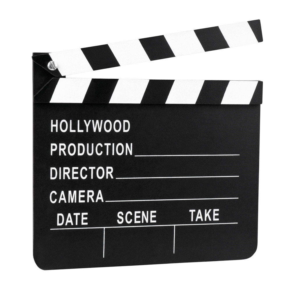 Hollywood Filmklapper (18 x 20 cm)