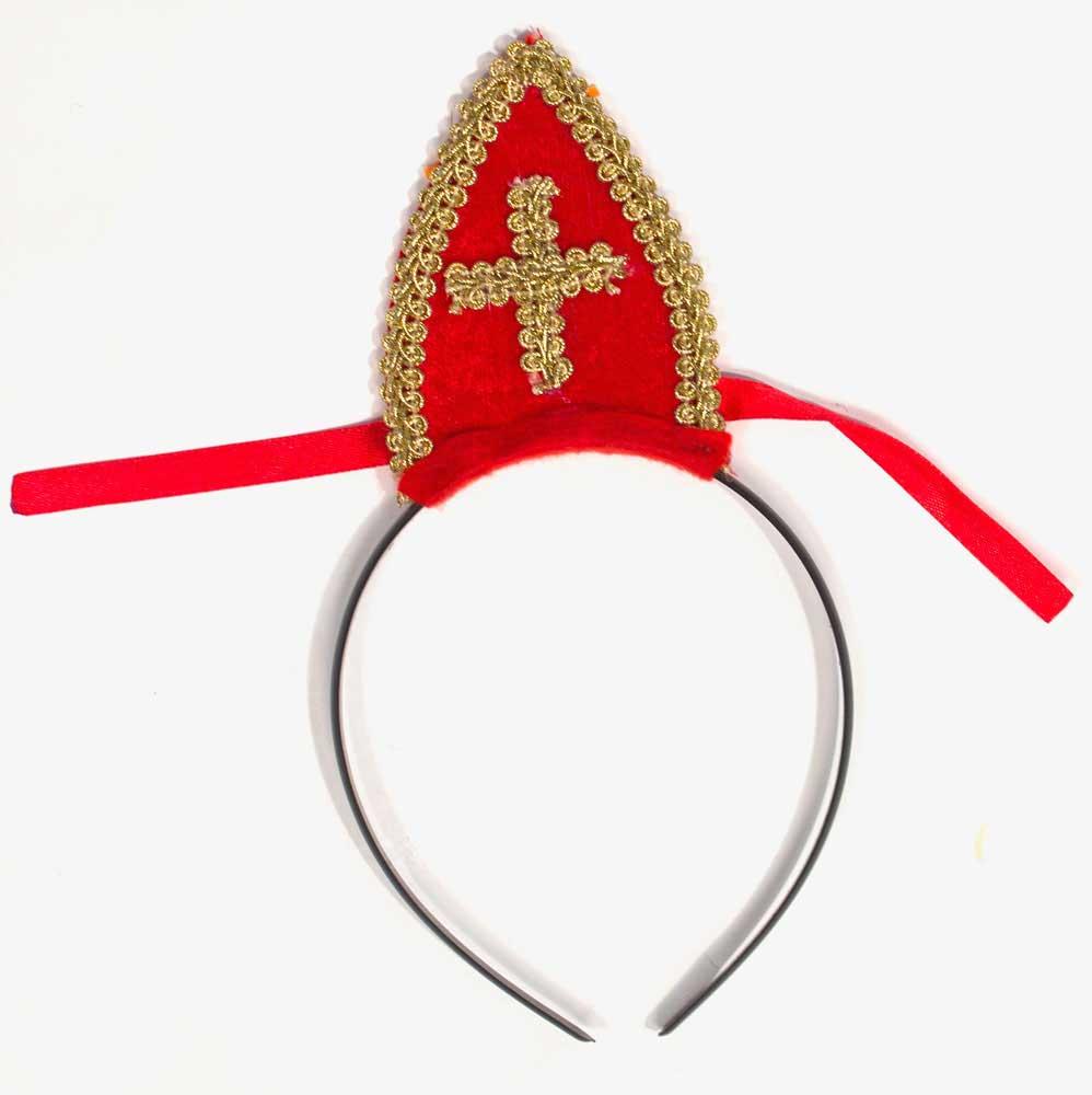 Sinterklaas mijter tiara thumbnail
