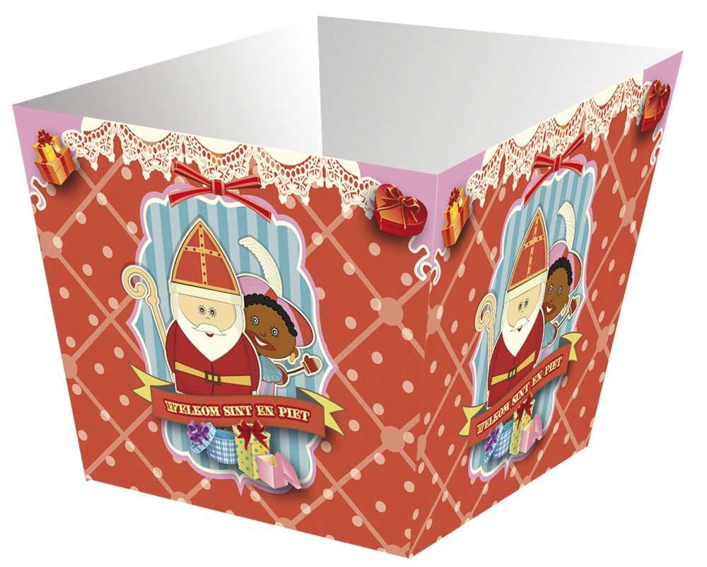 Sinterklaas pepernoten bakjes - 4 stuks thumbnail