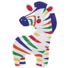 Cartoon Zebra Folieballon - 89cm