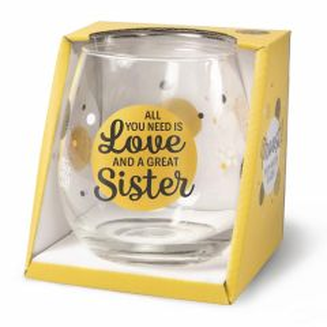 Wijn/waterglas - Sister