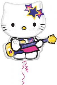 Hello Kitty Rock Star Folieballon