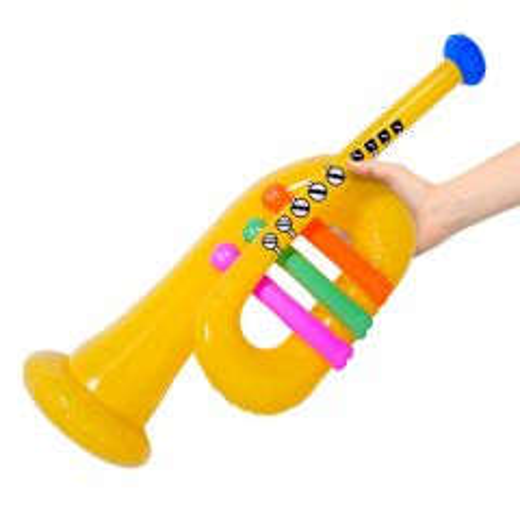 Opblaasbare Trompet 60cm