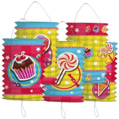 Cake & Candy Lampion set - 5 stuks