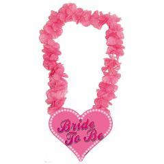 Roze Hawaii Krans Bride To Be