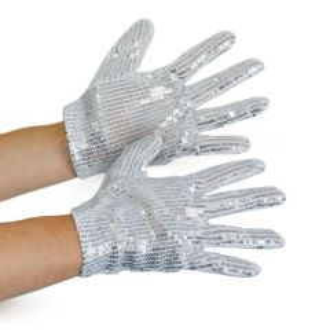 Michael Jackson Glitter handschoenen
