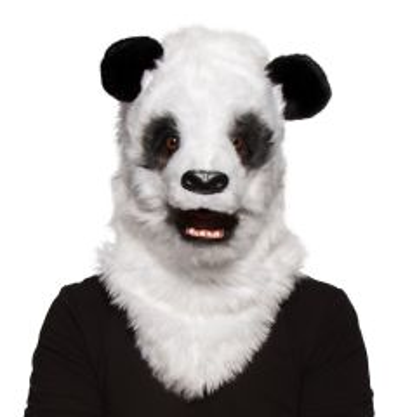 Panda Masker met Bewegende Mond