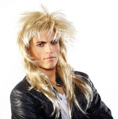 Pruik Johnny Rocker Blond