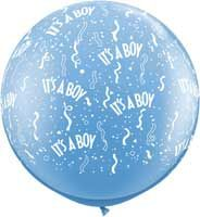 It's a Boy Ballon XL 90cm