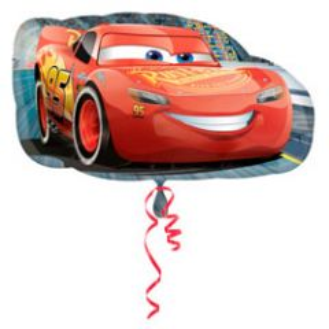 Cars Bliksem McQueen Folieballon 76x43cm