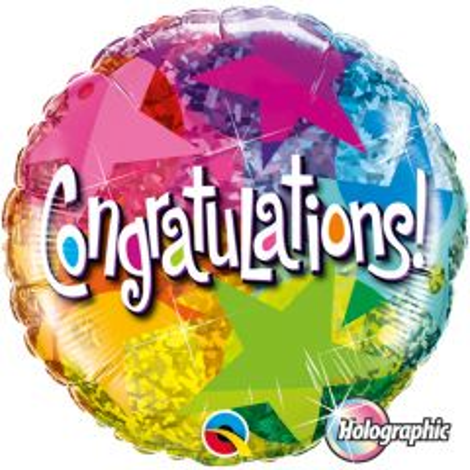 Congratulations Folieballon 46cm