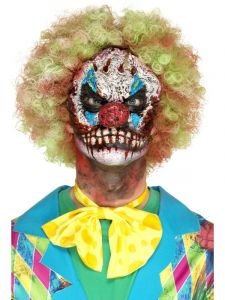 Horror clown masker foam latex