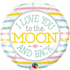 Love You To the Moon Folieballon - 45cm