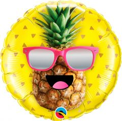 Summer Party Ananas Folieballon - 45cm