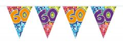 60 Jaar Slinger Birthday Blocks - 6 meter