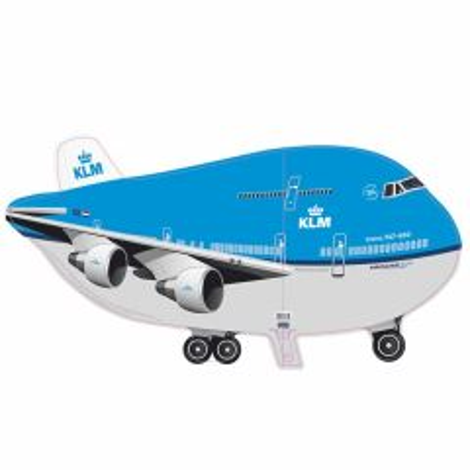 KLM Vliegtuig Folieballon 95x45cm