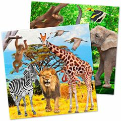 Safari Party Servetten 20 stuks