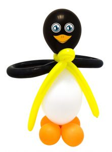Ballon Knutsel Set Pinguins - 2 stuks