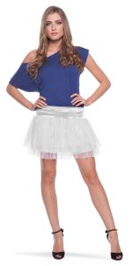 Witte Tutu Dames - One Size