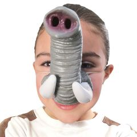 Olifant Slurf Masker