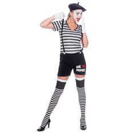 Mime Speler Kostuum Dames