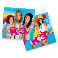 K3 Party Servetten - 20 stuks