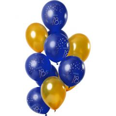 Ballonnen Elegant True Blue - 18 t/m 80 Jaar