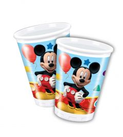 Mickey Mouse Clubhouse bekers - 8 stuks