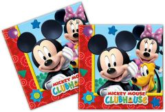 Mickey Mouse Clubhouse Servetten - 20 stuks