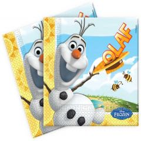Olaf Frozen Servetten - 20 stuks