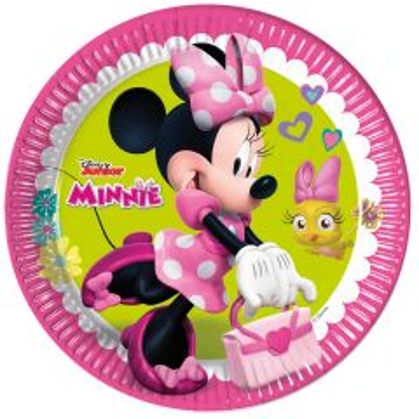 Minnie Mouse Happy Borden - 8 stuks