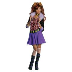 Monster High Clawdeen Kostuum - Kindermaat S