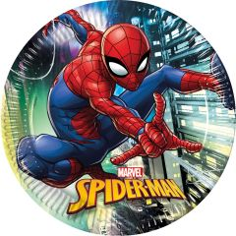 Spiderman Team Borden 23cm - 8 stuks