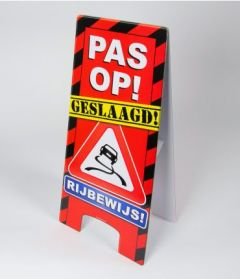 Warning Sign - Rijbewijs