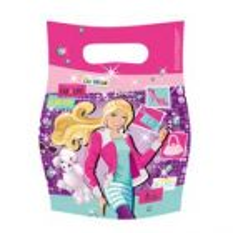 Barbie uitdeelzakjes - 6 stuks