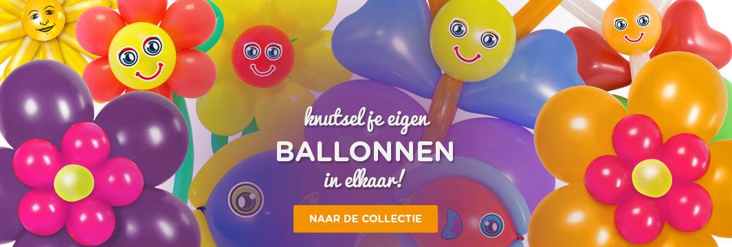 Knutsel en modelleerballonnen