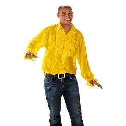Disco Shirt Geel - Volwassenen