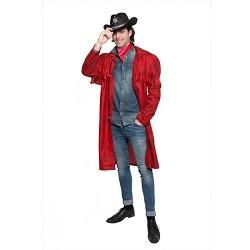 Rode Cowboy Jas - One Size